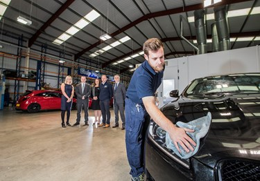 Car body repair firm doubles  in size with £500k investment